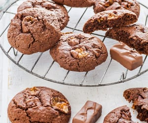 caramel, Cookies, and food image