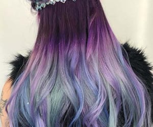 hair, beauty, and glitter image