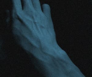 body, hands, and black image