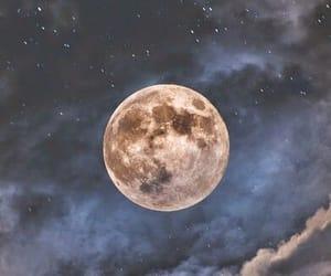 estrellas, moon, and nigth image