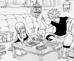 happy, fairy tail, and nalu image