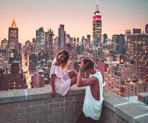 new york, girl, and travel image