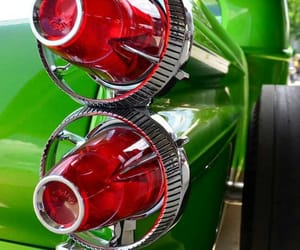 Close-ups, lights, and classic cars image