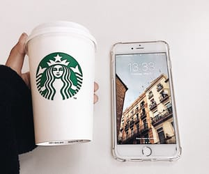 aesthetic, coffee, and iphone image