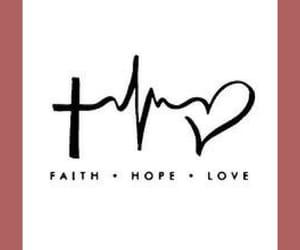 faith, tatuaje, and hope image