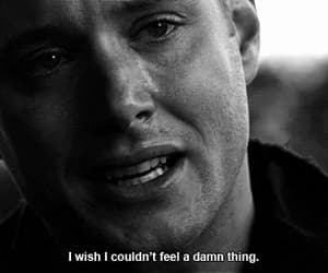 supernatural, quotes, and sad image