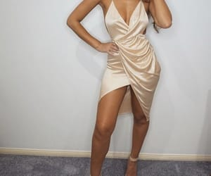 beige, dress, and event image