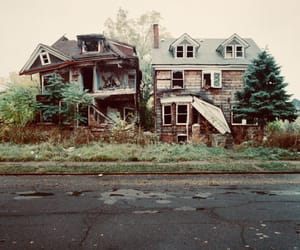 house and abandoned image
