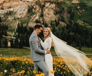 couple, couples, and dress image