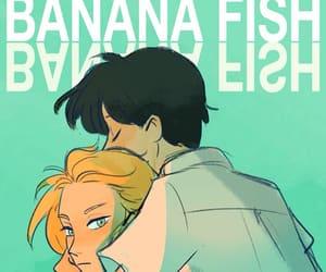 banana fish, ash lynx, and eiji okumura image