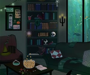 gif, harry potter, and slytherin image