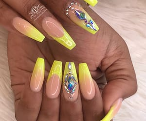 nails, poppin, and women image