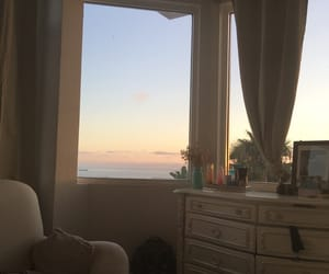 bedroom, classy, and sunset image
