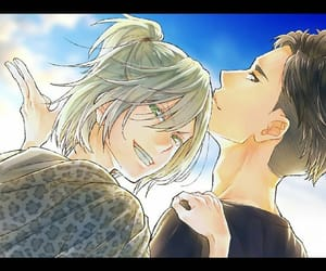 yuri on ice, yuri plisetsky, and otabek altin image