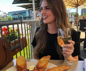 beauty, dinner, and carbs image