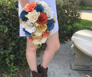 country chic, wedding bouquet, and etsy image