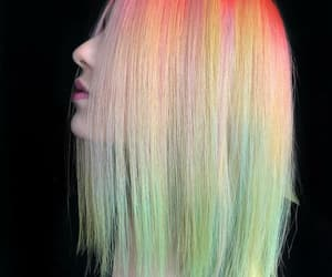 color hair, hairstyle, and hair image