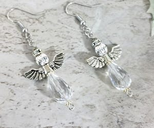 silver jewelry, drop earrings, and mothers day gift image