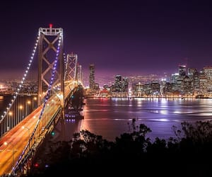 bridge, california, and san francisco image