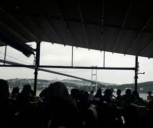 cafe, istanbul, and rain image