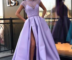 dress, glamour, and nightdress image
