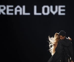 couple, jay-z, and queen b image