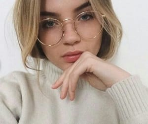 beautiful, glasses, and tumblr image