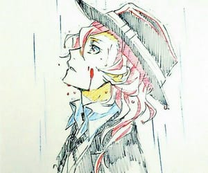 chuuya, bungou stray dogs, and nakahara image