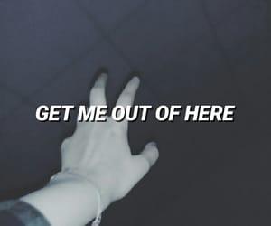 broken, depression, and hands image