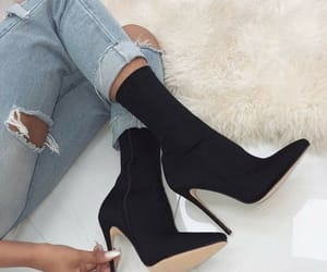 heels, mode, and shoes image