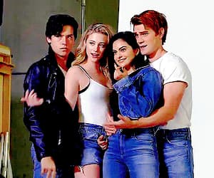 Archie, jughead, and veronica image