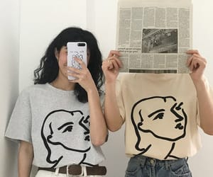 bff, friends, and fashion image