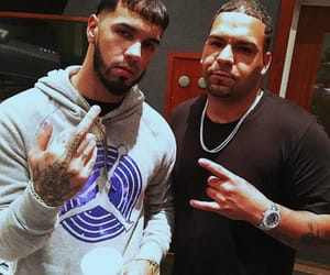 trap, anuel aa, and real hasta la muerte image