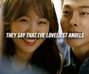 couple, gif, and kdrama image