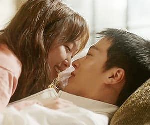 Korean Drama, come and hug me, and couple image