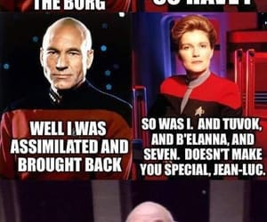 voyager, janeway, and star image