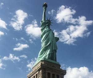 background, travel, and liberty image