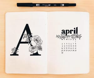 april, art, and a image