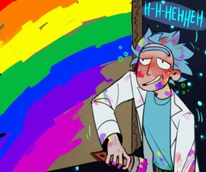 lgbt and rick and morty image