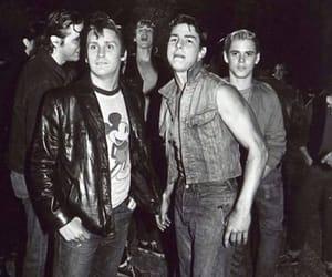 emilio estevez, Tom Cruise, and the outsiders image