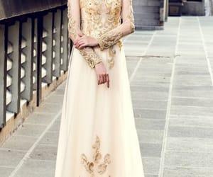 dress, ao dai, and vietnamese dress image