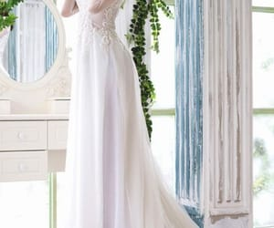 wedding dress, ao dai, and vietnamese wedding dress image