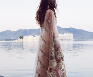 india, fashion, and style image
