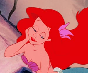 animation, ariel, and disney image