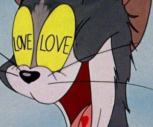 love, cartoon, and wallpaper image