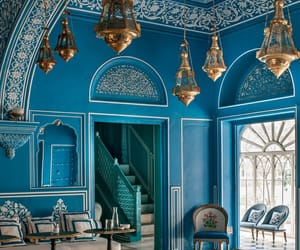 blue, wanderlust, and jaipur image