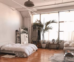 apartment, bed, and loft image