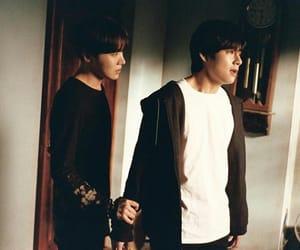 friendship, dark theme, and taehyung image