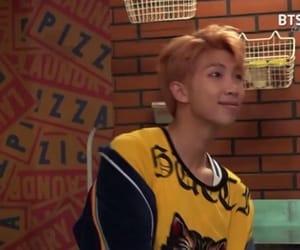 orange and kim namjoon image