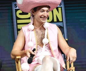 actor, funny face, and ezra miller image